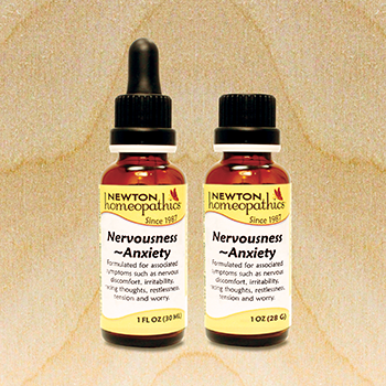 Newton Homeopathics Nervousness ~ Anxiety-newtonlabs net